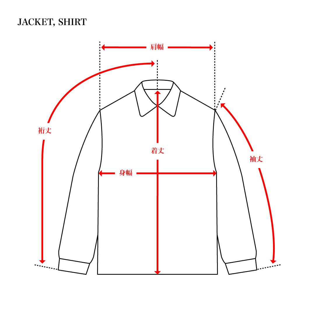 SIZE GUIDE: JACKET, SHIRT